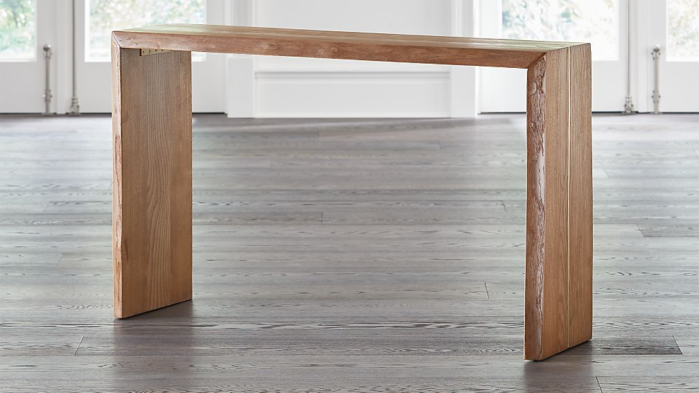 Montana 50x14 Live Edge Console Table - Image 1 of 7