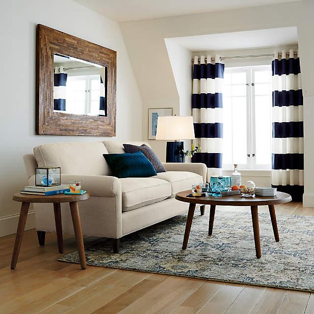 Seguro Natural Wood Wall Mirror Reviews Crate And Barrel