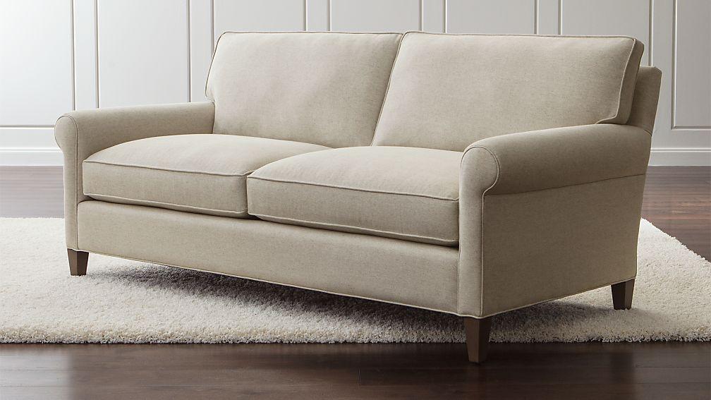 Montclair Condo Size Sofa Reviews Crate And Barrel