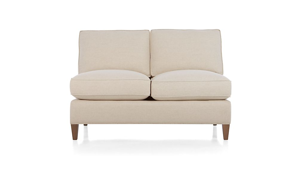 Montclair Armless Loveseat In Montclair Sectional Parts