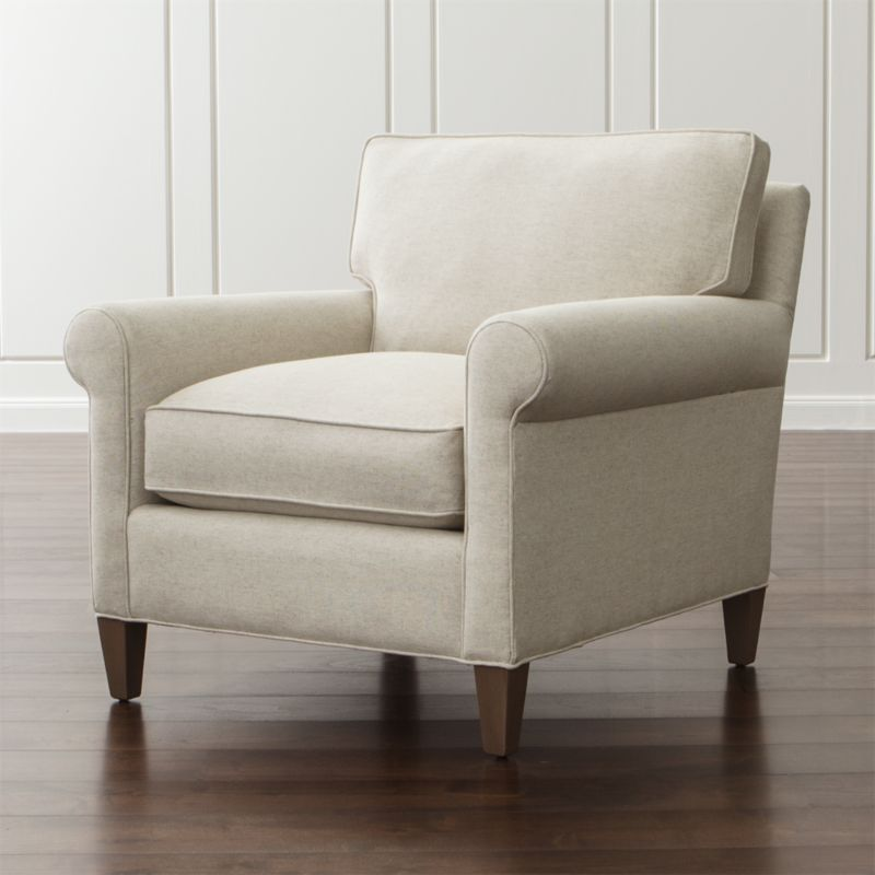 Montclair 2 Seat Sofa Cream Rolled Arm Sofa Crate And Barrel