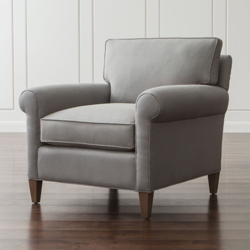 Montclair Roll Arm Chair Reviews Crate And Barrel