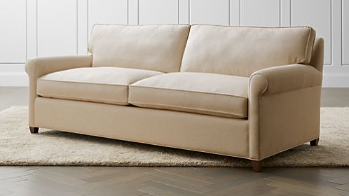 montclair 2-seat queen roll arm sleeper sofa E2NS1AY7