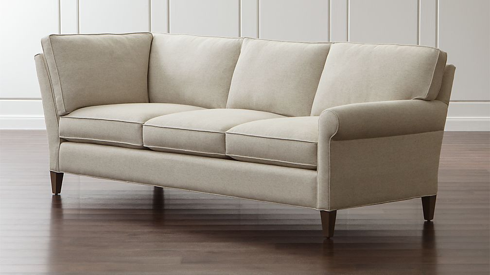 Montclair Right Arm Corner Sofa ... : crate and barrel sectional sofa - Sectionals, Sofas & Couches