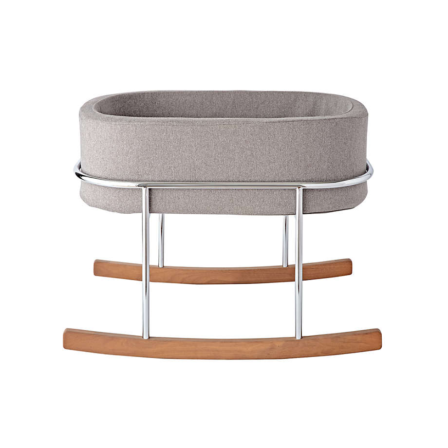 Viewing product image Monte Grey Rockwell Bassinet