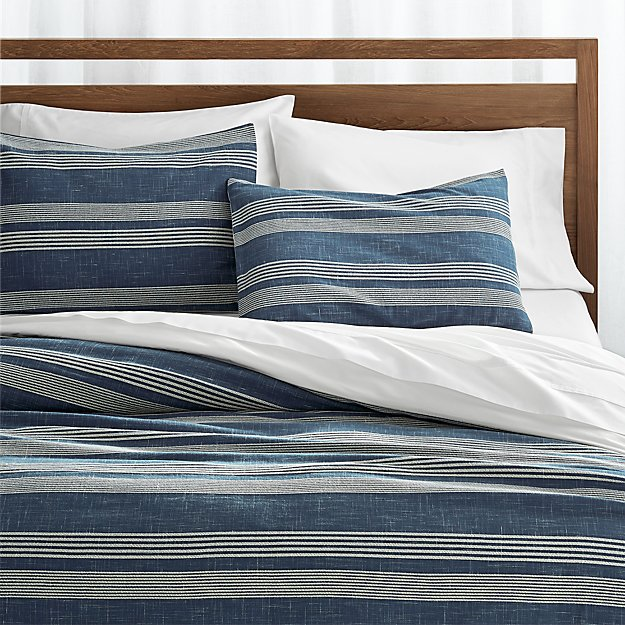 Monterey Blue Duvet Covers and Pillow Shams