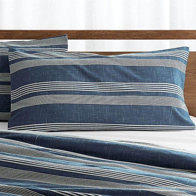 Monterey Blue King Sham