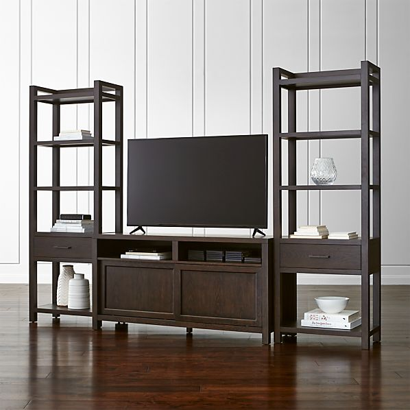 "Moore 60"" Media Console with Two Towers"