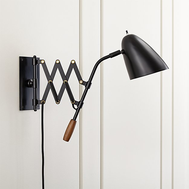 Morgan Black Sconce Reviews Crate And Barrel