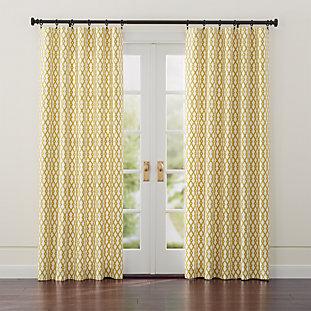 Brushed Brass 1 25 Quot Dia X48 Quot 88 Quot Curtain Rod Set Crate