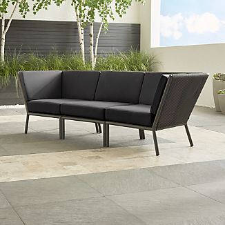 Morocco 3-Piece Sectional with Sunbrella ® Cushions