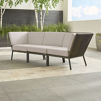 Outdoor Sofas Sale: More Style for Less Money   Crate and Barrel