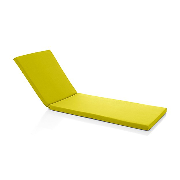 Morocco sunbrella chaise lounge cushion crate and barrel for Chaise lounge clearance