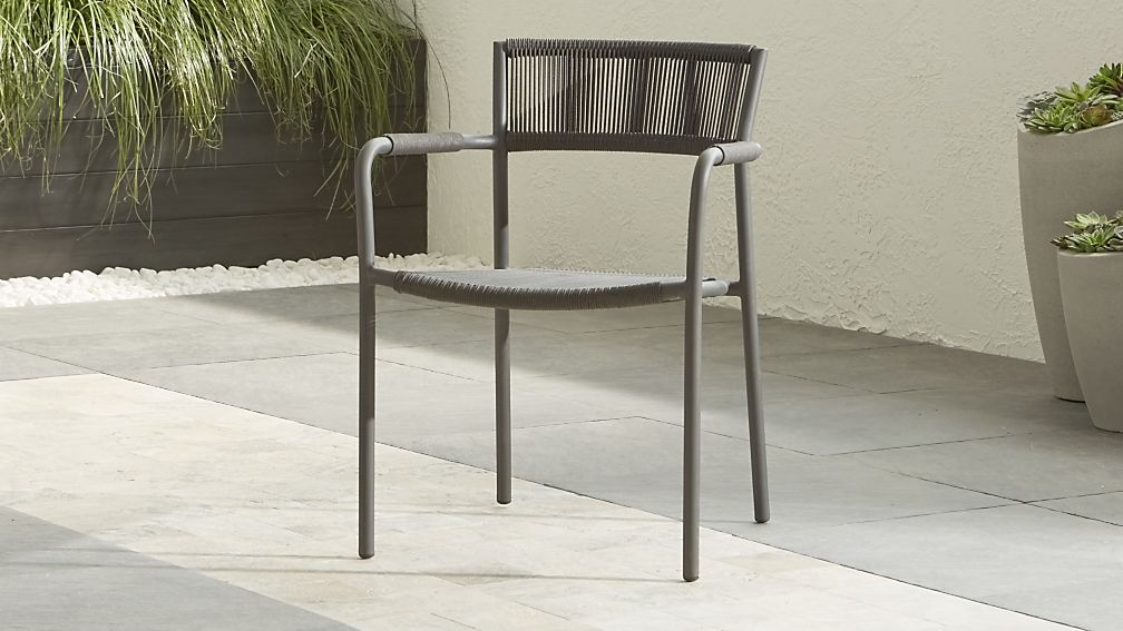Morocco Graphite Dining Chair - Image 1 of 13