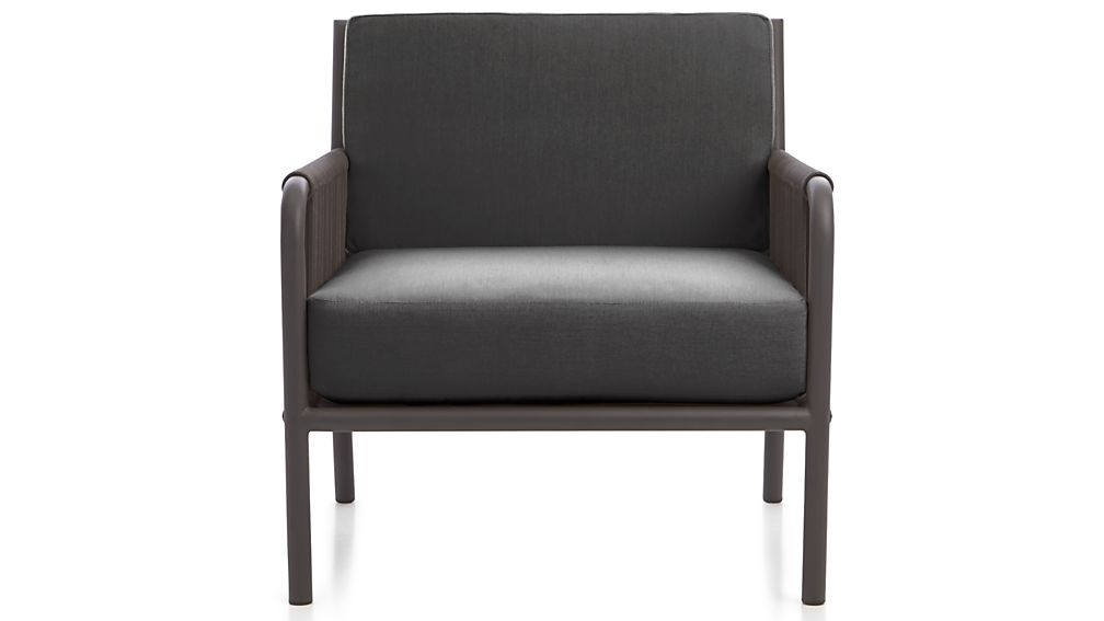Morocco Sunbrella Armless Lounge Chair Cushion