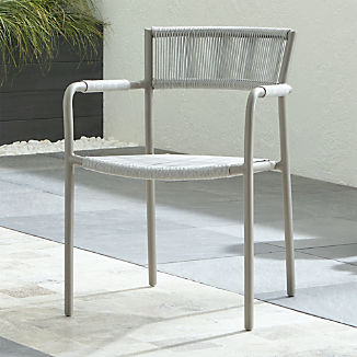 Morocco Light Grey Dining Chair