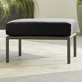 Morocco Ottoman with Sunbrella ® Cushion