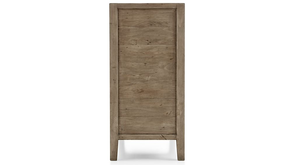 Morris Ash Grey 5-Drawer Chest