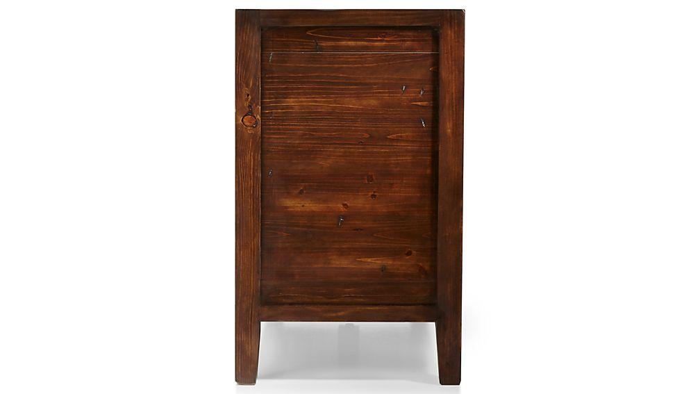 Morris Chocolate Brown 6-Drawer Dresser