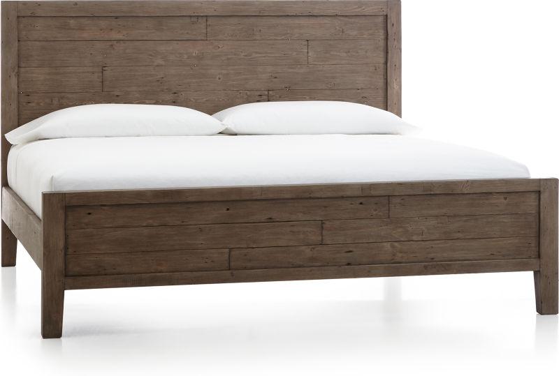 Morris Ash Grey King Bed