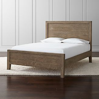 Morris Ash Grey Queen Bed