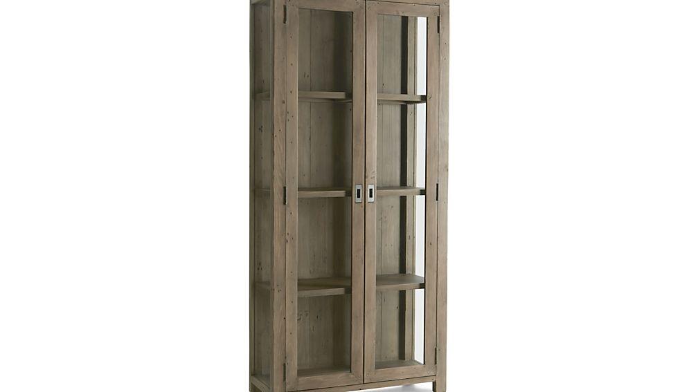 Morris Ash Grey Bookcase