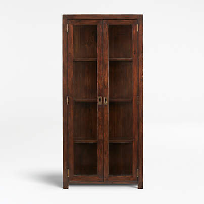 View testMorris Chocolate Brown Bookcase