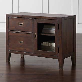 Morris Chocolate Brown Credenza
