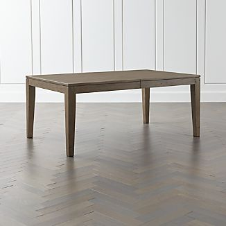 Morris Ash Grey Reclaimed Wood Extension Dining Table