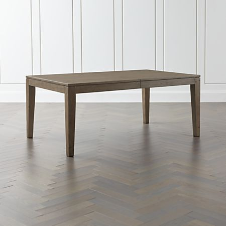 Admirable Morris Ash Grey Reclaimed Wood Extension Dining Table Download Free Architecture Designs Rallybritishbridgeorg