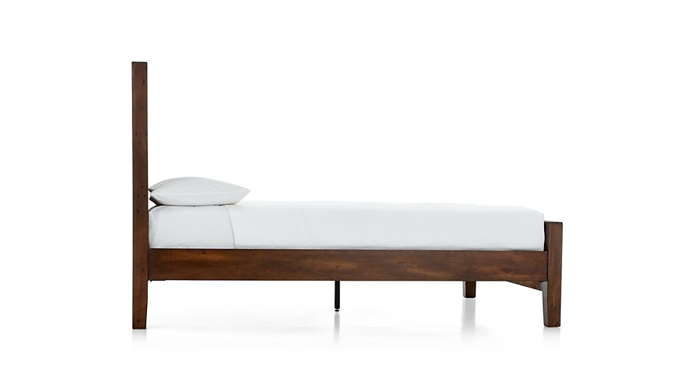 Morris Chocolate Brown Queen Bed
