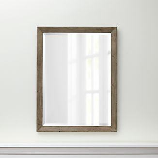 Morris Ash Grey Wall Mirror