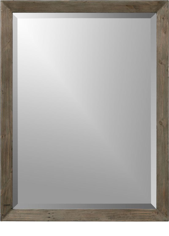 Morris Ash Grey Wall Mirror