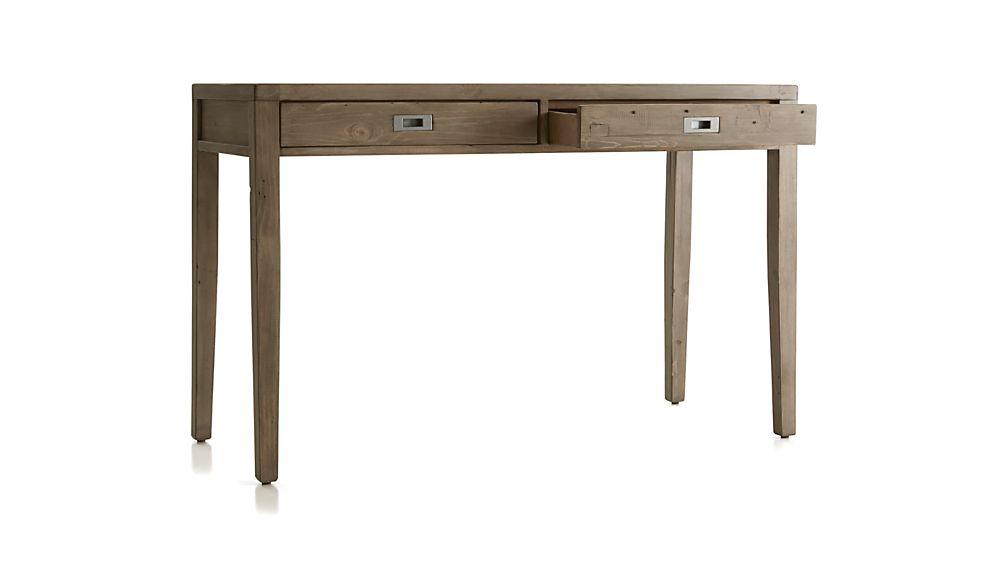 "Morris 48"" Ash Grey Writing Desk"