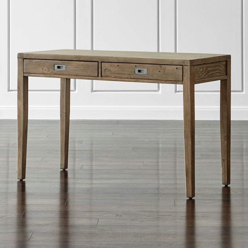 Morris 48 Ash Grey Writing Desk