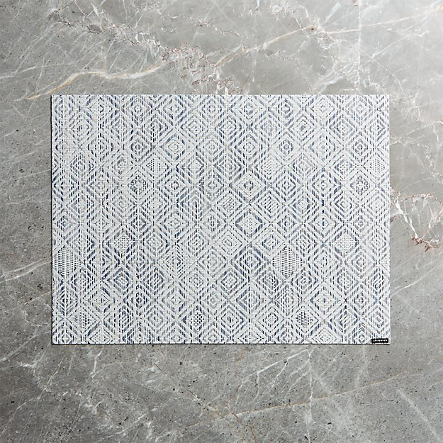 Chilewich ® Mosaic Blue Placemat