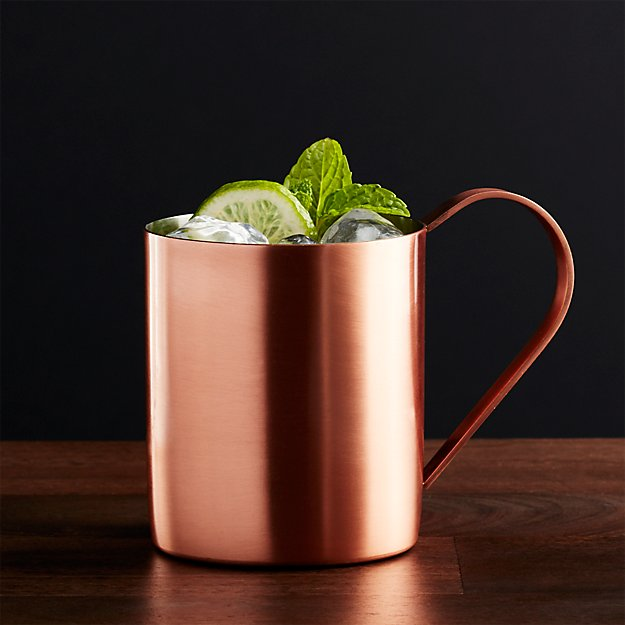 Moscow Mule Copper Mug Reviews Crate And Barrel