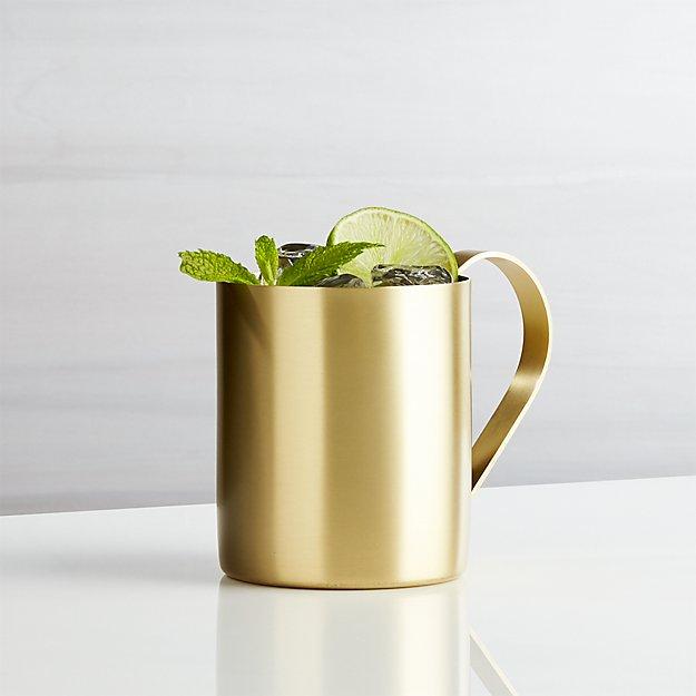 Moscow Mule Mug - Gold - Image 1 of 7