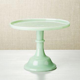 "Mosser Jadeite 10"" Cake Stand"