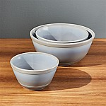 Mosser Marble Mixing Bowls, Set of 3