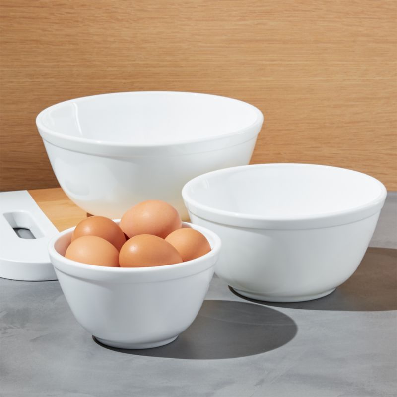 Mosser Milk Mixing Bowls Set Of 3 Reviews Crate And