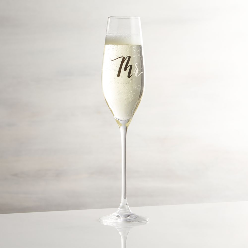 Mr. Champagne Glass - Crate and Barrel
