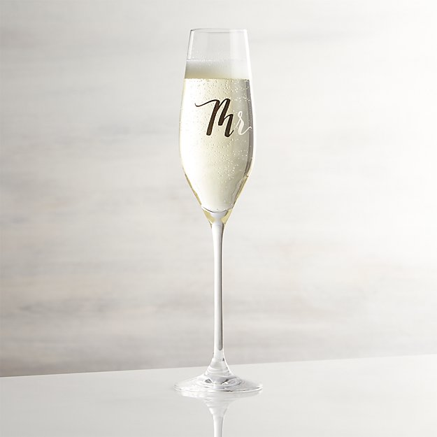 Mr. Champagne Glass