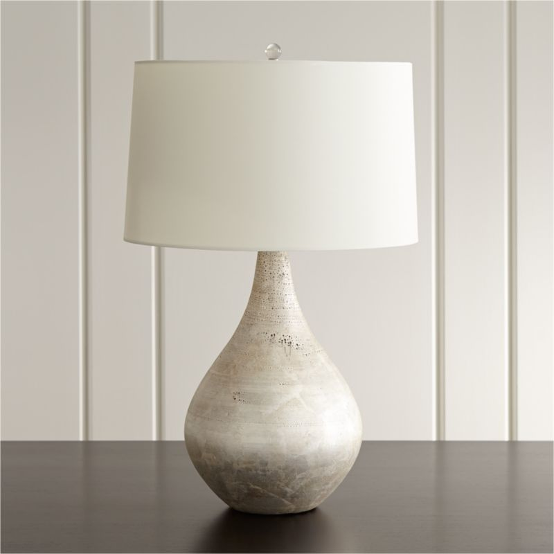 Mulino Teardrop Table Lamp Reviews Crate And Barrel