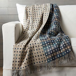 Multi Blue Dot Throw