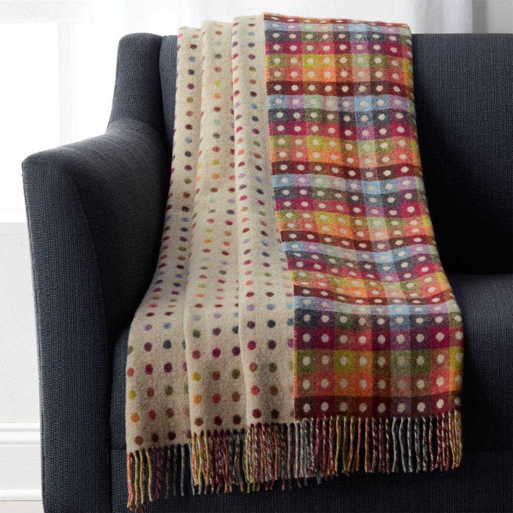 Multi-Dot Throw - Crate and Barrel