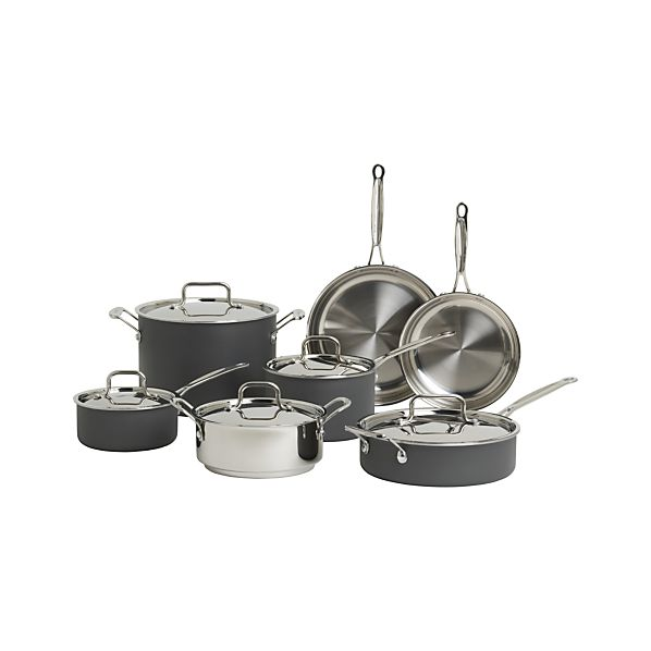 Cuisinart ® MultiClad Unlimited ™ 12-Piece Cookware Set with Bonus