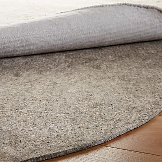 Multisurface 6' Thick Round Rug Pad