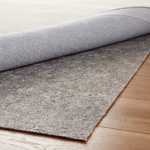 Multisurface Thin Rug Pad Crate And Barrel