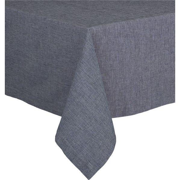 "Murphy Blue 60""x120"" Tablecloth"